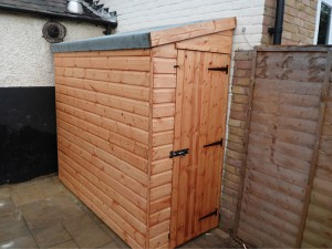 The streamline supplying sheds garden buildings to for Narrow storage shed